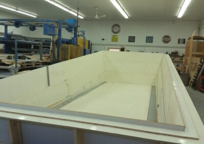 Otter Pool form construction process.